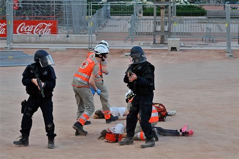 Phap rao riet chuan bi an ninh truoc tran khai mac Euro 2016 hinh anh 15
