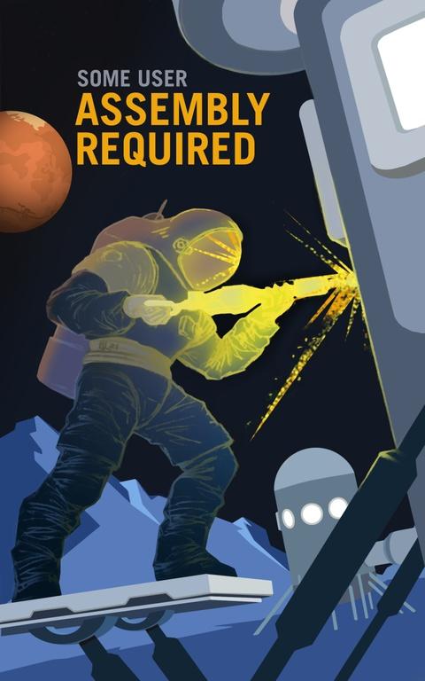 NASA tung poster tuyen nguoi len sao Hoa hinh anh 2