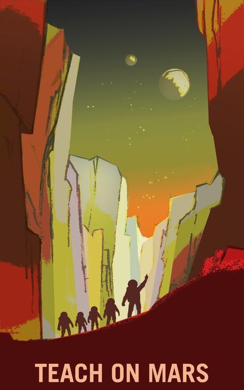 NASA tung poster tuyen nguoi len sao Hoa hinh anh 3