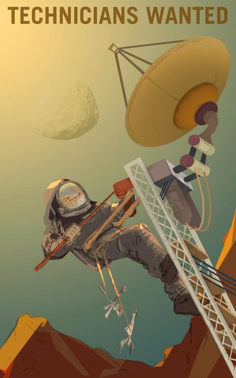 NASA tung poster tuyen nguoi len sao Hoa hinh anh 4