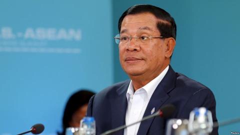 Campuchia phan doi ASEAN ung ho phan quyet ve Bien Dong hinh anh