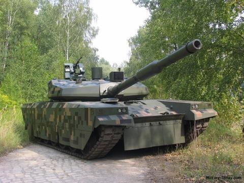 Ba Lan gioi thieu xe tang doi choi T-14 cua Nga hinh anh