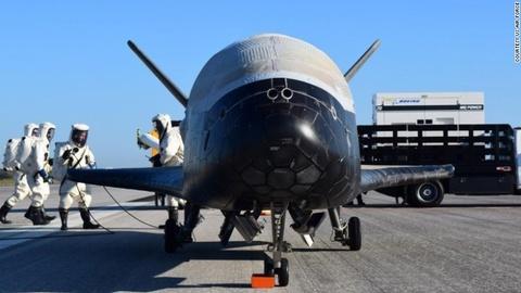 Su menh bi an cua X-37B trong khong gian hinh anh 1