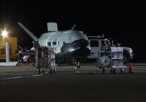 Su menh bi an cua X-37B trong khong gian hinh anh 10