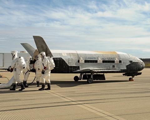 Su menh bi an cua X-37B trong khong gian hinh anh 5
