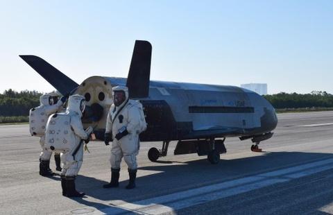 Su menh bi an cua X-37B trong khong gian hinh anh 8