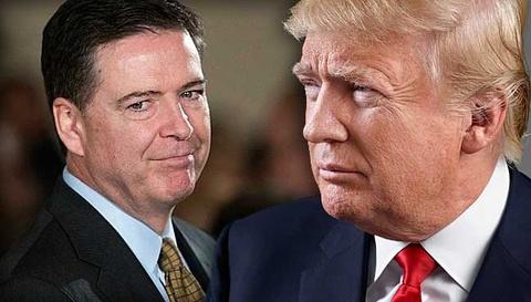 Ong Trump phu nhan ghi am cuoc noi chuyen voi cuu giam doc FBI hinh anh