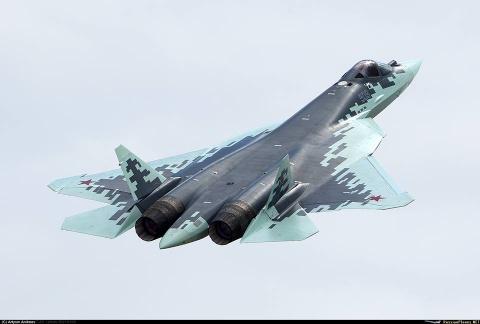 Nga dinh danh tiem kich tang hinh moi la Su-57 hinh anh