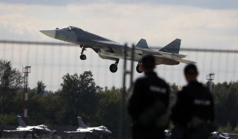 Tiem kich tang hinh Su-57 cua Nga co the qua mat F-22 cua My hinh anh 3