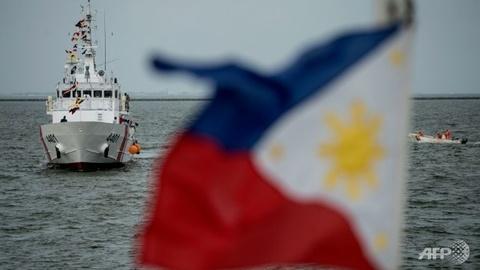 My tang Philippines may bay sau su co ngoai giao hinh anh