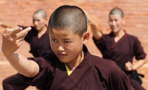 Nhung ni su luyen vo Viet Nam tren day Himalaya hinh anh 4