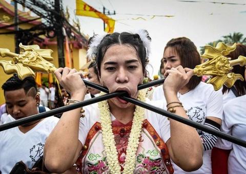 Le hoi an chay rung ron o Thai Lan hinh anh 7