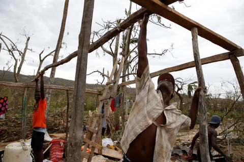 Canh tan hoang nhu thoi chien o Haiti sau bao Matthew hinh anh 8