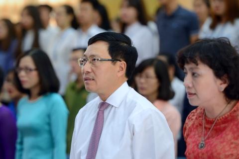Pho thu tuong Pham Binh Minh du khai giang HV Ngoai giao hinh anh 2