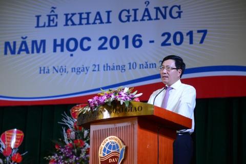 Pho thu tuong Pham Binh Minh du khai giang HV Ngoai giao hinh anh 4