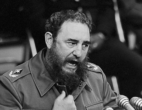 Lanh tu Fidel Castro va nhung khoanh khac lich su hinh anh
