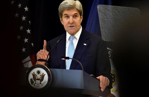 Kerry chi trich du doi Israel ve cac khu dinh cu hinh anh