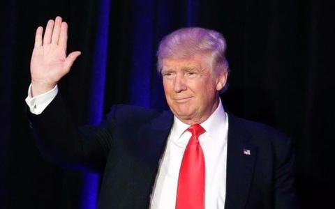 Ty le ung ho Trump giam truoc ngay nham chuc tong thong hinh anh