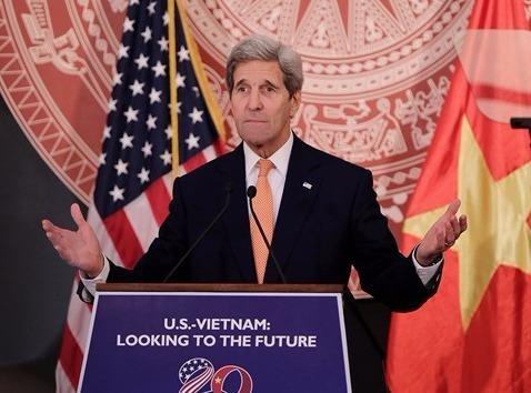 Ngoai truong My John Kerry den Viet Nam toi nay hinh anh