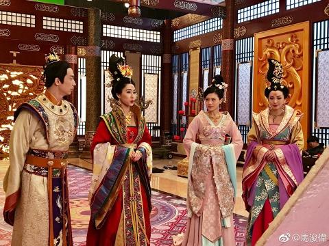 Nhan dau tu tu dai luc, phim truyen hinh TVB bi ngon tinh hoa hinh anh