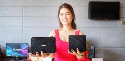 Có gì hay ở chiếc PC 'bỏ túi' và 'cầm tay' của MSI?