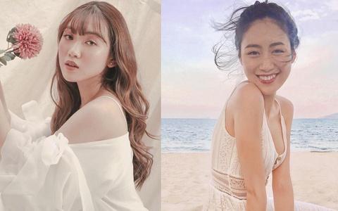2 beauty blogger bang tuoi, xuat than giau co, ngoai hinh cuon hut hinh anh