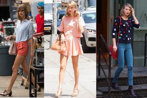 8 phong cach phoi do thuong ngay cua Taylor Swift hinh anh