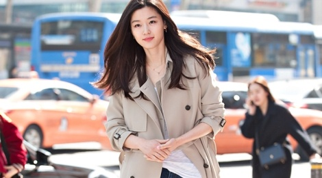 Thoi trang doi thuong an tuong nhu 'nang ca' Jun Ji Hyun hinh anh