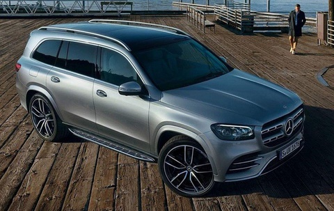 Chi tiet Mercedes-Benz GLS-Class 2020 duoc cong bo truoc ngay ra mat hinh anh 2