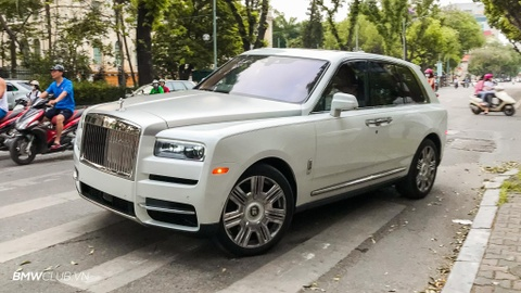 Chi tiet xe sang Rolls-Royce Cullinan 41 ty tai VN hinh anh 1