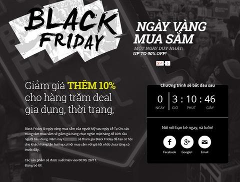 Nhung quang cao an theo Black Friday cua Viet Nam hinh anh