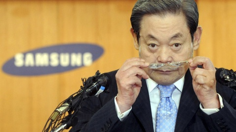 Con duong tri vi Samsung 30 nam cua nguoi giau nhat Han Quoc hinh anh