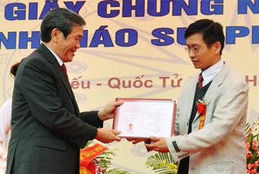 30 tuoi duoc phong Pho giao su tre nhat Viet Nam nam 2013 hinh anh