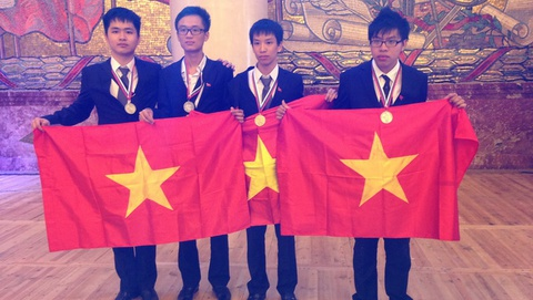75 nuoc tham gia Olympic Hoa hoc quoc te tai Viet Nam hinh anh