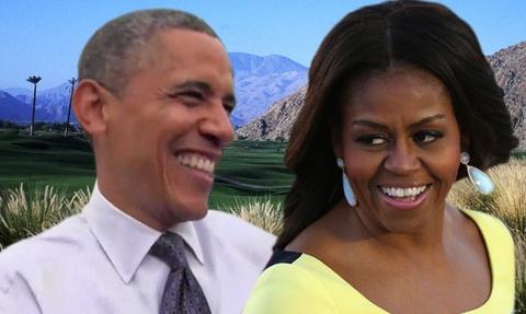 Vo chong Obama tao dang tren du thuyen 300 trieu USD hinh anh