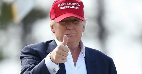 7 thang tai nhiem, TT Trump tung quang cao tai tranh cu dau tien hinh anh