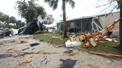 'Quai vat' Irma trut cuong no cuc dai len Florida hinh anh 6