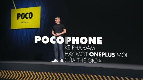 Pocophone - tro 've sau thoat xac' gia re cua Xiaomi de dau Samsung hinh anh