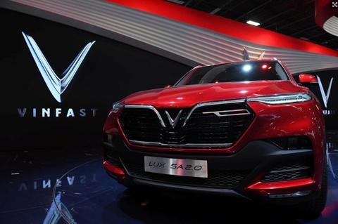 Xe VinFast se doi dau voi Mazda CX5 va Toyota Camry, duoi co xe Duc hinh anh