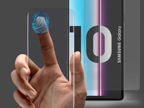 Miếng dán màn hình duy nhất dùng được cho Galaxy S10