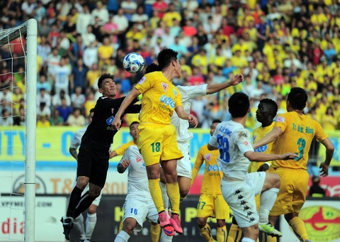 Ha Noi T&T dang quang nghet tho V.League 2016 hinh anh 1
