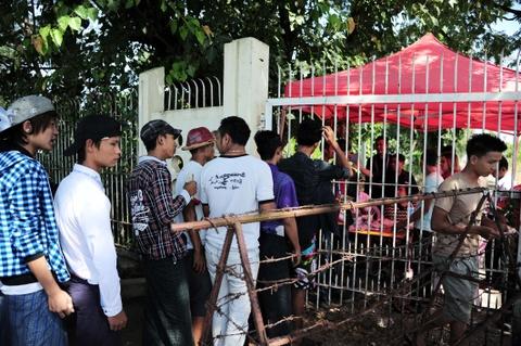 Myanmar vs Viet Nam: Co dong vien chu nha tu tap tu som hinh anh 4