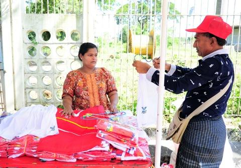 Myanmar vs Viet Nam: Co dong vien chu nha tu tap tu som hinh anh 6