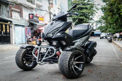 Yamaha NVX do 3 banh doc dao tai Viet Nam hinh anh