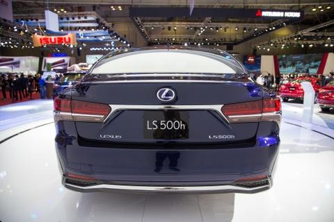 Lexus LS 500h 2018 lan dau xuat hien tai Viet Nam hinh anh 5