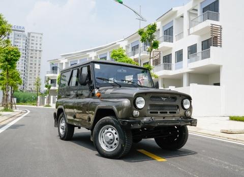 UAZ Hunter may dau - xe gam cao duoi 500 trieu tai Viet Nam hinh anh