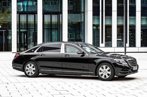 Chi tiet Mercedes-Maybach S600 Guard cua Tong thong Han Quoc hinh anh