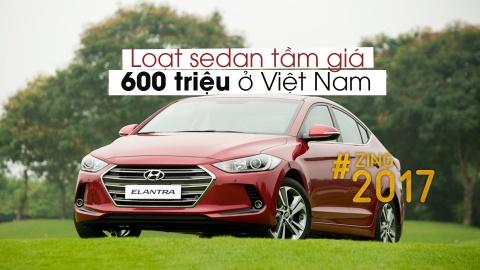 8 mau sedan tam gia 600 trieu dong tai Viet Nam hinh anh 1
