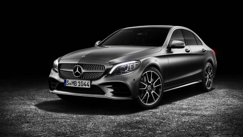 Mercedes-Benz trinh lang C-Class 2019 - ap luc len BMW 3-Series hinh anh