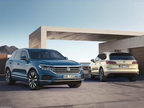 Volkswagen Touareg 2019 ra mat hinh anh